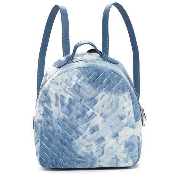 94c3713083bb 👖Steve Madden Chevron Tie Dye Denim Backpack